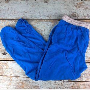 Splendid cobalt blue jogging pants